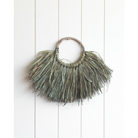 Wall Hanging - Heath Light Moss Small - 40x30 (MIN 4)