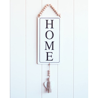 Quote Sign - Home - Tin - 15x50