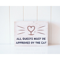 Timber Quote Box - Cat's Approval - 24x18x4 (MIN 2)