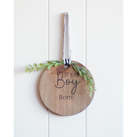 Quote Sign - It's a Boy! - 15x15 (MIN 2)