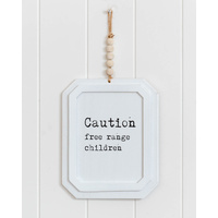 Quote Sign - Free Range Children - 20x38