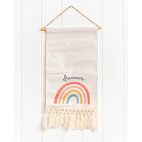 Quote Sign - Dreamer Rainbow Scroll - 25x60 (MIN 2)
