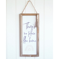 Quote Sign - No Place Like Home - Rainbow - 20x46 (MIN 2)