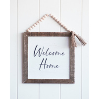 Quote Sign - Welcome Home - 24x33 (MIN 2)