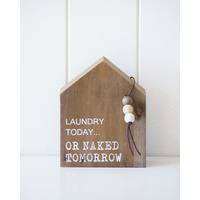 Timber Quote Box - Laundry or Naked - 12x15x5 (MIN 2)