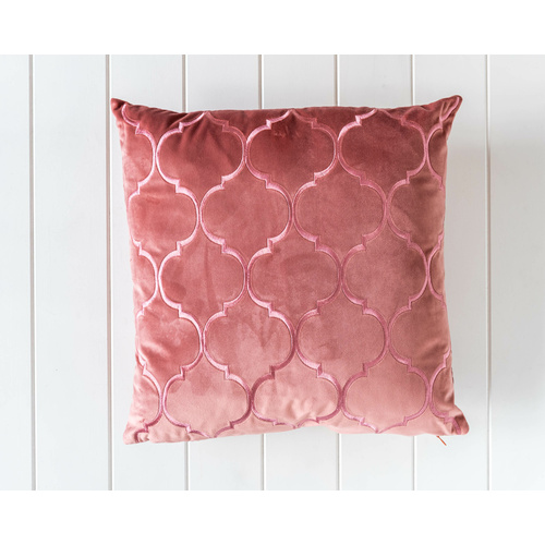 Velvet Cushion - Alexander - Dusty Rose - 45x45