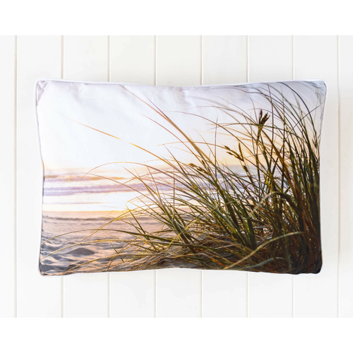 Indoor Cushion - Morning Beach View - Cotton - 60x40