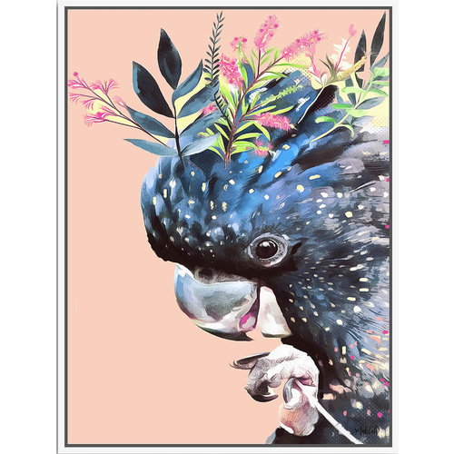 Artist Lab - Inkheart - Black Cockatoo - 90x120